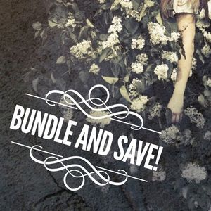 Bundle and Save 10% on 3+ items!